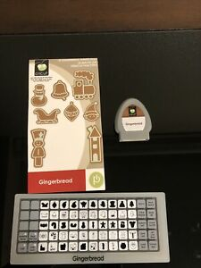 CRICUT CARTRIDGE GINGERBREAD