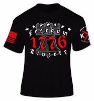 1776 T-Shirt I Patriot I Veteran I Liberty Bell I Freedom I America I Knives Out