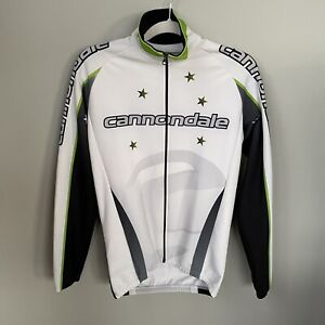 Cannondale mens cycling jacket full zip size Medium