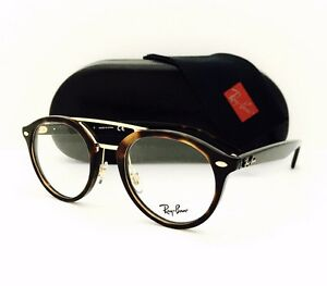 New Ray Ban Eyeglasses RB 5354 5674 Havana Gold 50•21•145 With Original Case