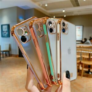 Luxury Case For iPhone 11, 11 Pro Max Clear Phone Cover Hard Back Shockproof
