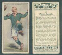 ASSOLUTA R@RIT@' FIGURINA ORIGINALE FOOTBALLERS-PLYMOUTH A. 1928-M.RUSSELL*N.39