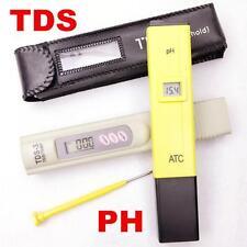 0-14 PH Value Acid-base Soil Tester + 0-9990PPM TDS Meter Water Purity Pen Stick