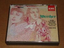 Massenet - Werther 2 CD Box EMI (Georges Pretre/Gedda/De Los Angeles/Mesple)