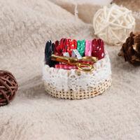 1:12 Dollhouse mini sewing tools basket simulation scissors cloth ruler toys, so