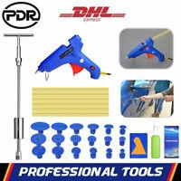 PDR Kit Réparation Dent Débosselage Carrosserie Marteau Pistolet À Colle Outils