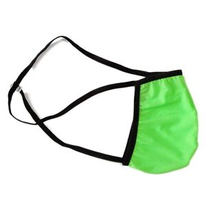 K4412 Mens Sexy Thong String waist G-Strings Contoured Pouch Silky Soft Thin