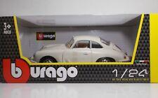 "Bburago 22079 Porsche 356 B Coupe' ""Ivory"" - METAL Scala 1:24"