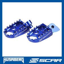 REPOSE CALE PIED EVO HUSABERG FE 250 350 501 FX 450 FS TE 250 300 BLEU SCAR