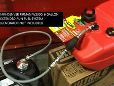 Firman W2000i 2000 Watt Generator 6 Gallon Extended Run Fuel System Made In Usa