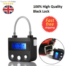 Multipurpose Bondage Time Lock For Ankle Handcuffs Mouth-Gag Electronic 100% UK