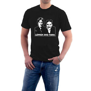 NEW Lennon & Marx John & Groucho T-Shirt Marx Brothers Beatles by Sillytees