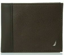 Nautica Mens Wallets Leather