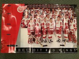 Detroit Red Wings Joe Louis SGA Poster 1993-94 Yzerman Lidstrom Fedorov Coffey