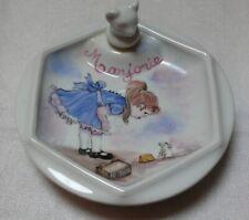 assiette porcelaine chauffante pour bébé  / Marjorie