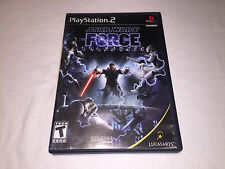 Star Wars: The Force Unleashed (Playstation PS2) Black Label Complete Excellent!
