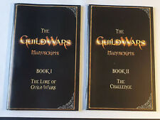 2 X folletos manuscritos para Guild Wars Juego de PC