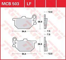 Mcb503 plaquettes de frein revêtements de Lucas yamaha rd250, xs400, rd400, xs850