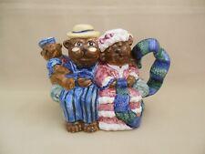 Three Bears T-Pot Express Productions Figural Teapot - New In Box