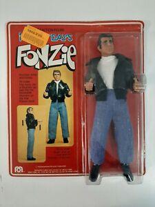 Rare Vintage 1976 Mego Happy Days Fonzie - MOSC Unpunched
