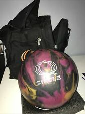 More details for circle rio multicoloured bowling ball with carry bag