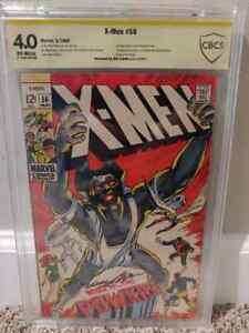 X-MEN #56 CBCS 4.0 SIGNATURE SERIES NEAL ADAMS  1st MARVEL ADAMS ART COMIC KINGS