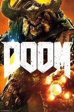 DOOM - CYBER DEMON - VIDEO GAME POSTER - 22x34 - 14727
