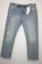 Levis 501CT Womens Sz 31x32 SELVEDGE WHITE OAK CONE Destroyed Faded Denim Jeans
