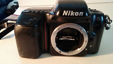 Nikon N50 35mm Film camera (Body Only) & Nikon Strap-AS-IS