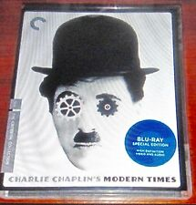 Modern Times Criterion Nov-2010 Blu-ray Disc, Chaplin's Epic Comedy, P. Goddard