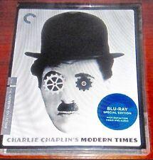 Modern Times CRITERION nov-2010 Disco Blu-Ray,chaplin's Epic COMEDIA, P. GODDARD
