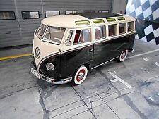 VW volkswagen t1 autobús samba fensterbus negro Weiss ventana Schuco Limited 1:18