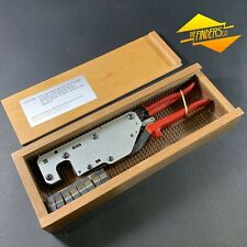 Siemens *Near New* Boxed Hex Cable Line Crimping Pliers + Dies B1-B4