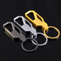Carabiner Metal Key Ring Alloy Spring Locking Clip Chain Holder Keys Accessory