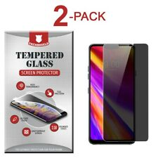 (2-Pack) Privacy Tempered Glass Film Screen Protector Anti Spy For LG G7