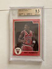 1986 Star #3 Michael Jordan Rookie Card BGS 9.5, 1984 Olympian