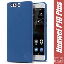 Cover Silicone Huawei P10 Plus Case Funda Coque Sandstone Tpu Gel Ruvida Noziroh
