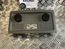 BMW 5 SERIES E60 E61 DUAL LIGHTER SOCKETS REAR CENTRE CONSOLE TRIM GREY 70341...