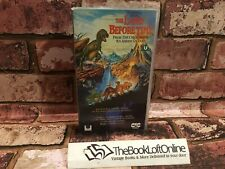 The Land Before Time VHS Video Tape Vintage Children's Dinosaur Classic TBLO