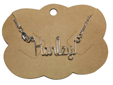 Any Name sizes 7 - 12 Anklet Ankle Bracelet Personalized .925 Sterling Silver