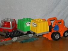Lego Duplo Eisenbahn: Intelli Cargo Set 3326 & Infrarot Waggon komplett