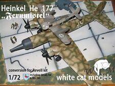 "He 177 ""Fernmistel"" + 2 x Fw 190 Slippertanks + Decals  1/72 WCM Conversion ovp"