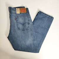 Levi's 514 Straight Fit Light Wash Denim Jeans Size 36 x 30 New with Tags