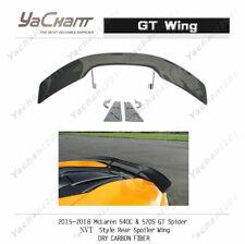 Dry Carbon Spoiler For 15-18 McLaren 540c & 570s GT Spider NVT-Style GT Wing