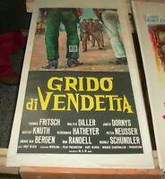 Schrei von Rache Plakat Original 1964
