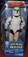 "STAR  WARS  CLONE  TROOPER  YR. 2002  12""  ACTION  FIGURE"
