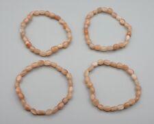 Armband SONNENSTEIN 6 mm Perlen ca. 19 cm Nuggetarmband Extra-Qualität