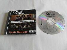 The 2 Live Crew - Sports Weekend (2CD 1991)  FRANCE Pressing