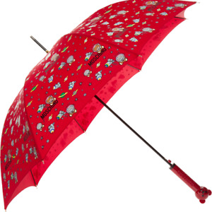Moschino Umbrella Large size Teddy Bear in Space new with tags