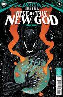 DARK NIGHTS DEATH METAL RISE OF THE NEW GOD #1 NM BATMAN WHO LAUGHS ROBIN KING !